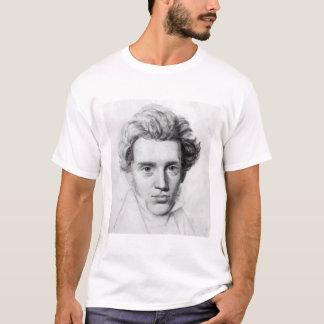 Soren Kierkegaard porträtt T-shirt