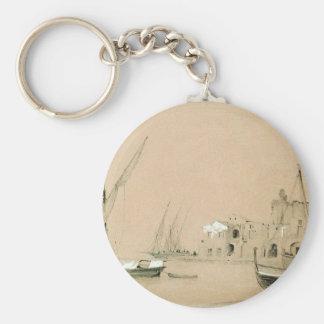 Sorrento. Havet beskådar vid Ivan Aivazovsky Rund Nyckelring