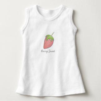 Söt babyklänning för bär t shirt