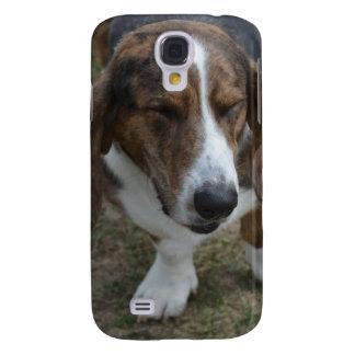 Söt Bassethund Galaxy S4 Fodral