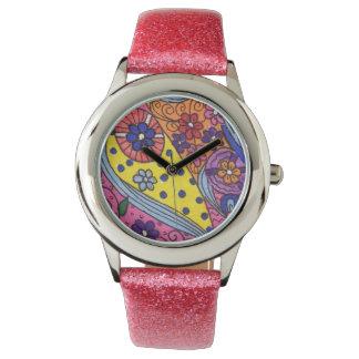 Söt i rosa armbandsur