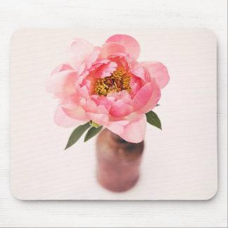 Söt i rosor musmatta