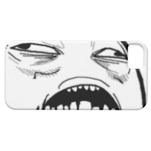 Söt Jesus tecknad Meme iPhone 5 Skal