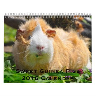 Söt kalender för försökskaninar 2016