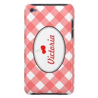 Söt körsbärsröd anpassningsbar för rött landgingha Case-Mate iPod touch fodral