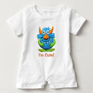 Söt prickig gigantisk gullig baby Halloween T-shirt