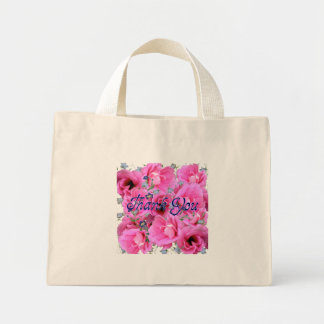 Söt rosa blommatacktoto