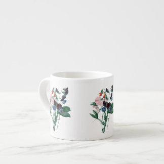 Söta ärtor vid Redoute den botaniska Espressomugg
