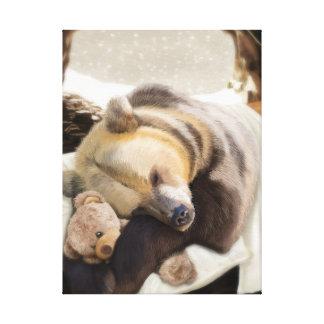 Söta drömmar, Herr björn Canvastryck