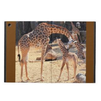 Söta giraff, mamma och baby, iPadluft iPad Air Skydd