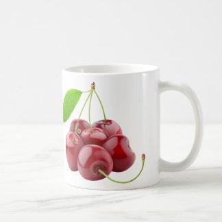 Söta körsbär kaffemugg