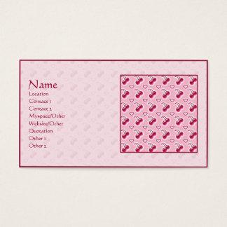 Söta körsbär visitkort