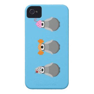 Söta pingvin iPhone 4 Case-Mate case