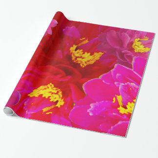 Söta Vigorosa blommor Presentpapper
