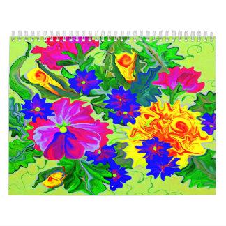 Sötblommor 2014 kalender