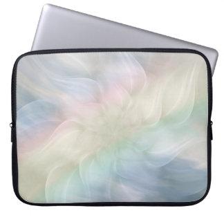 Söten kyler pastellfärgad regnbågeMandaladesign Laptop Fodral