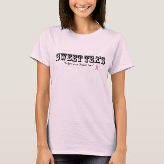 sötsak-teas Tea 2 för bröstcancermedvetenhet T Shirts