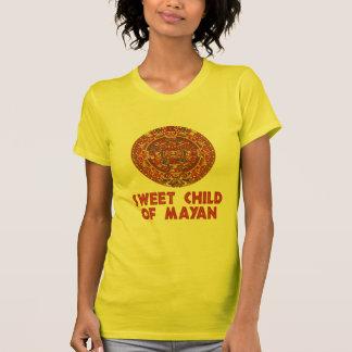 Sött barn av Mayan Tee Shirt