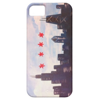 Sött hem- Chicago mobilt fodral iPhone 5 Cover