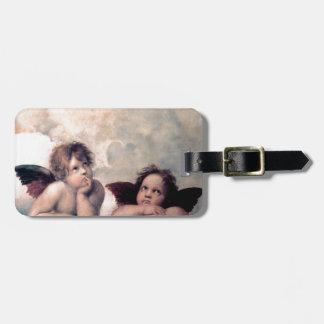Sött italienskt änglarrenaissancemästerverk bagagebricka