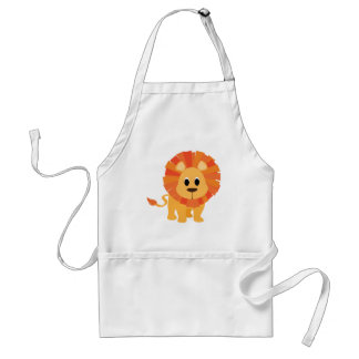 Sött lejont förkläde