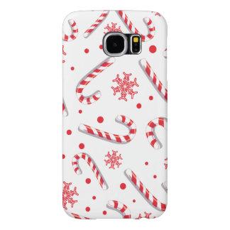 Sött mönster för Christmassy godispub Galaxy S5 Fodral