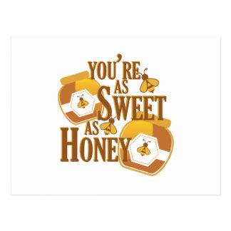 Sött som honung vykort