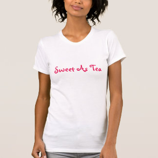Sött som Teautslagsplats T-shirt