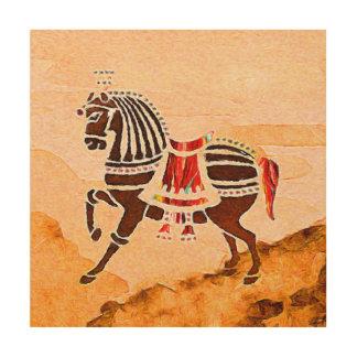 Soulsna av hästen   för rusa   | trätavla