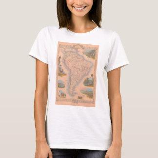 Sout 1851 Amerika América gör Sul T-shirt