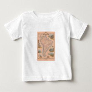 South America 1851 América gör Sul Tee Shirts