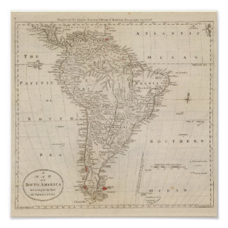 South America 22 Poster