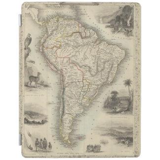 South America 35 iPad Skydd