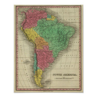 South America 38 Poster