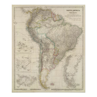 South America 4 Poster