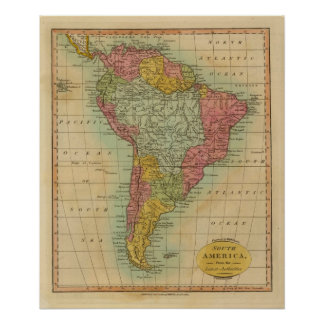 South America 8 Poster