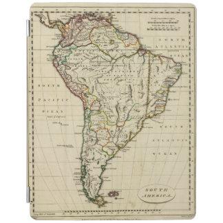 South America med skisserade gränser iPad Skydd