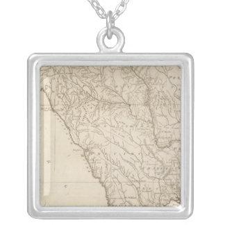 South Carolina 4 Silverpläterat Halsband