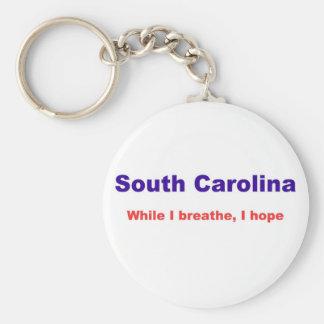 South Carolina Rund Nyckelring
