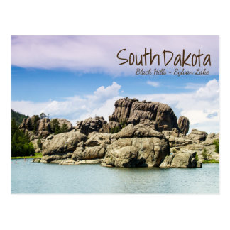 South Dakota sjöSylvan vykort