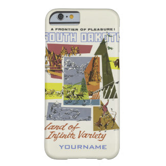 South Dakota vintage resorcases Barely There iPhone 6 Skal