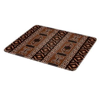 Southwestern design för brunt Aztec stam- mönster