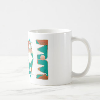 Southwestern stil kaffemugg
