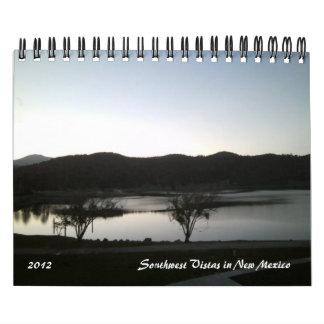 Southwestutsikter 2012 i nytt - mexico kalender