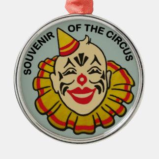Souvenir av cirkusen julgransprydnad metall