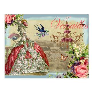 Souvenir de Versailles Vykort