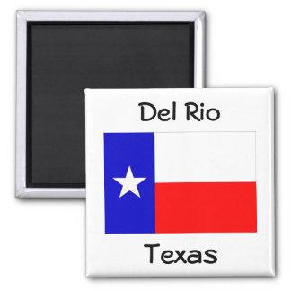 Souvenir för Del Rio texas flaggamagneter Magnet