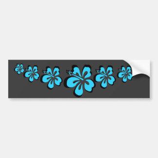 Souvenir för hawaiibo för Aquahibiskusblomma Bildekal