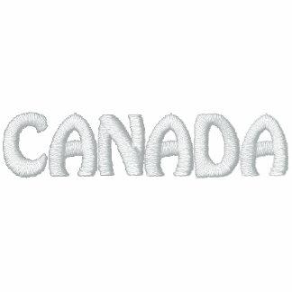 Souvenir för lönnlöv för skjorta för Kanada sportP Broderade Polo Tröjor