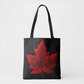 Souvenir för lönnlövet för Kanada tote bags hänger Tygkasse